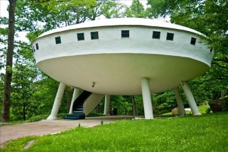 space ship house